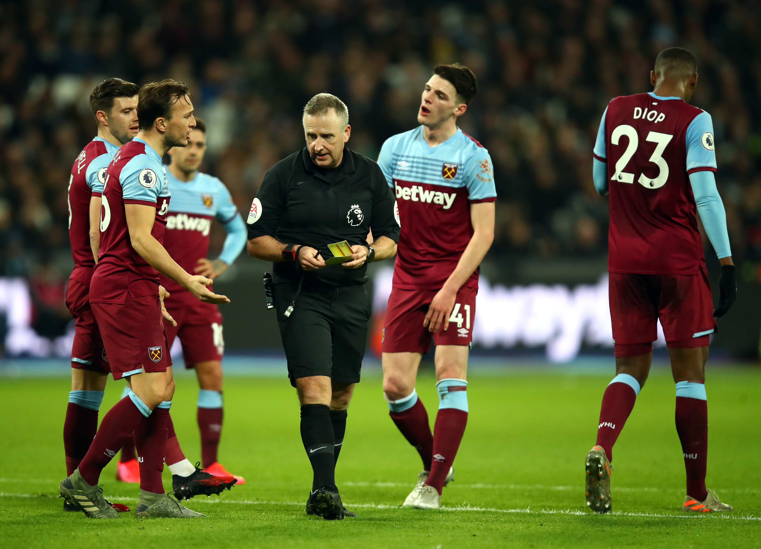 West Ham: Three quickfire changes before the Liverpool match